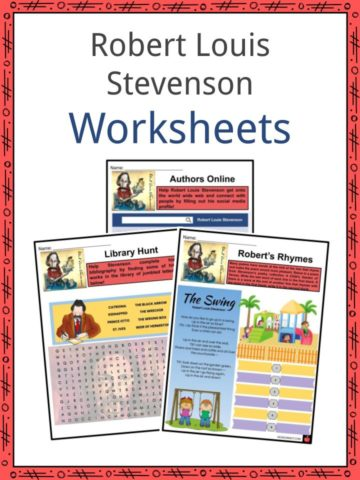 Robert Louis Stevenson Worksheets