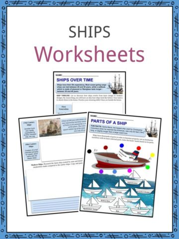 Ships Worksheets