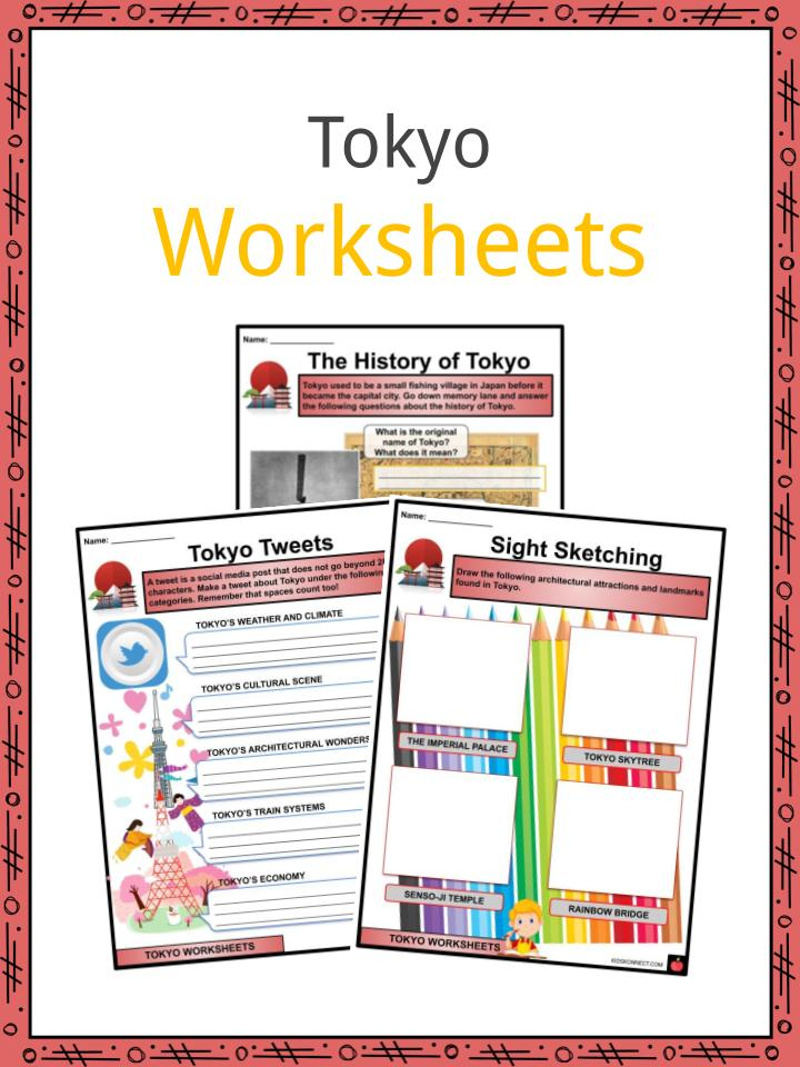 Tokyo Facts, Worksheets, Etymology, History & Geography For Kids