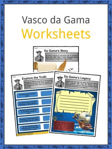 Vasco da Gama Worksheets