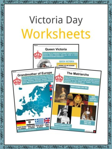 Victoria Day Worksheets