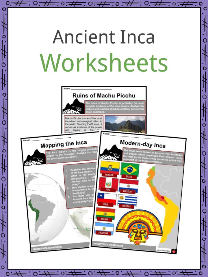 Ancient Inca Facts & Worksheets | KidsKonnect