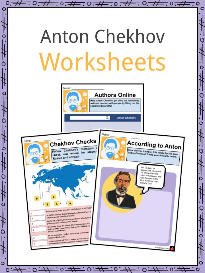 Anton Chekhov Worksheets