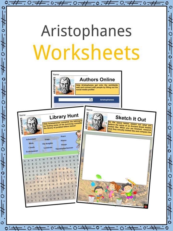 Aristophanes Worksheets