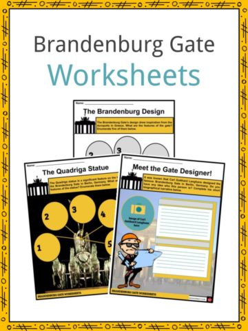 Brandenburg Gate Worksheets