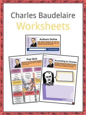 Charles Baudelaire Worksheets