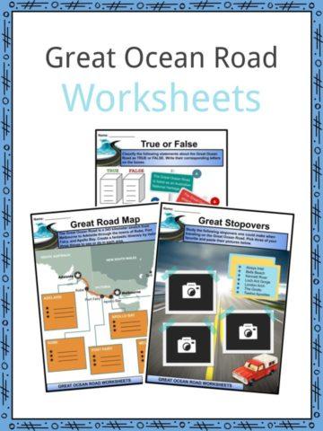 Great Ocean Road Worksheets