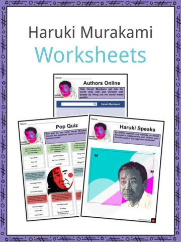 Haruki Murakami Worksheets