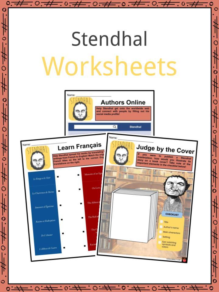 Stendhal Worksheets