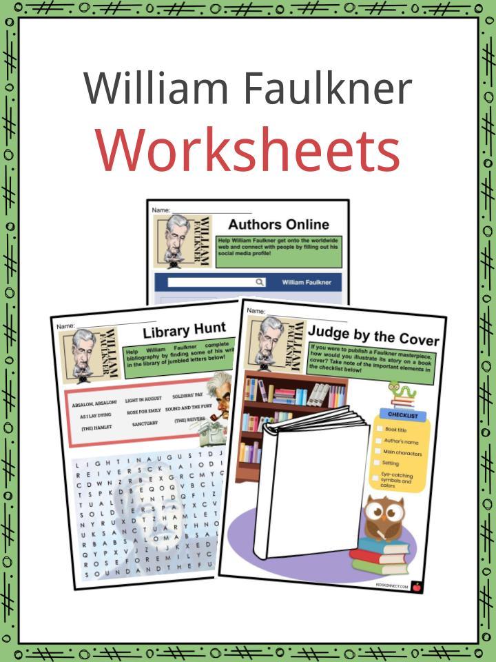 William Faulkner Worksheets