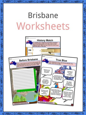 Brisbane Worksheets