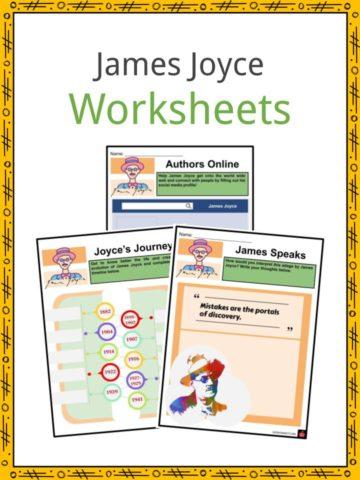 James Joyce Worksheets