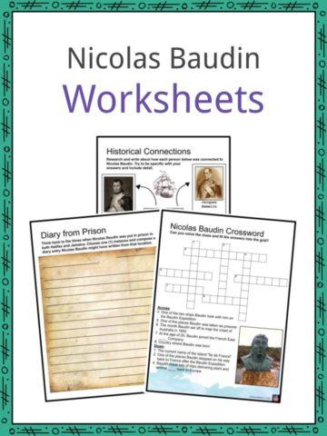 Nicolas Baudin Worksheets