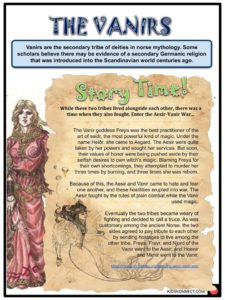 Norse Gods and Goddesses Facts, Worksheets & The Mythology For Kids