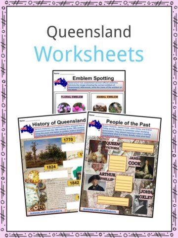 Queensland Worksheets