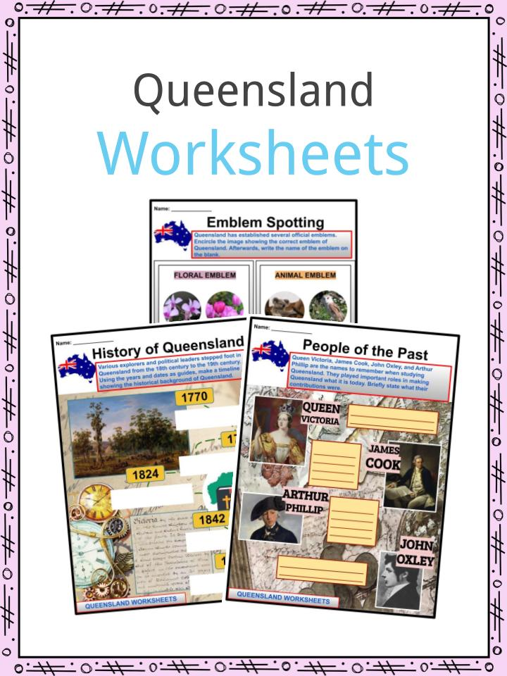 Queensland Worksheets