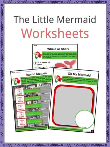The Little Mermaid Worksheets