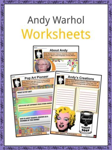 Andy Warhol Worksheets