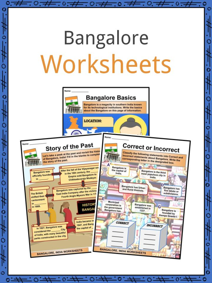 Bangalore Worksheets