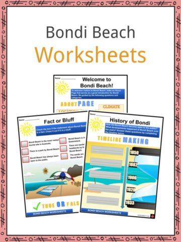 Bondi Beach Worksheets
