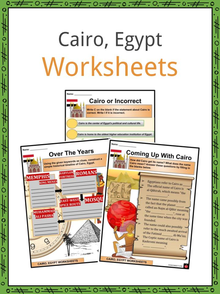 Cairo Worksheets