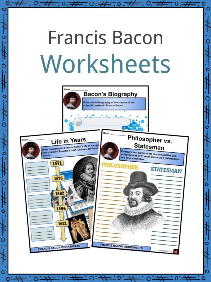 Francis Bacon Worksheets