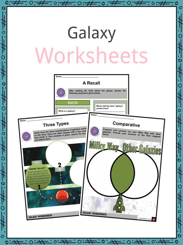 Galaxy Worksheets