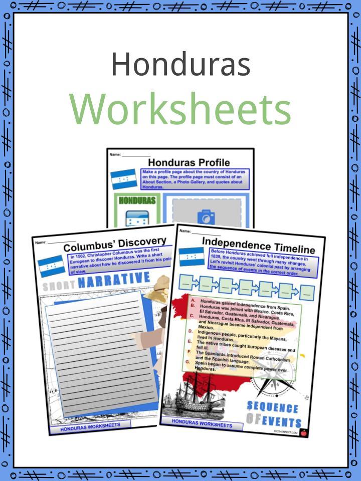 Honduras Worksheets