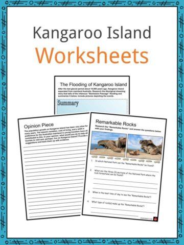 Kangaroo Island Worksheets