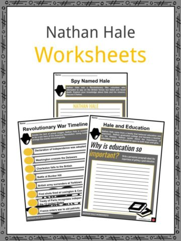 Nathan Hale Worksheets