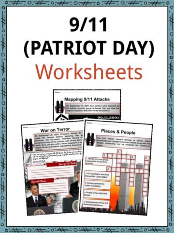 Patriot Day Worksheets