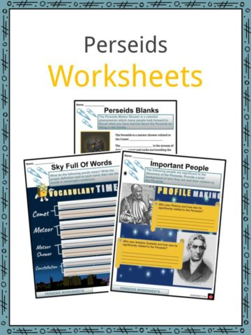 Perseids Worksheets