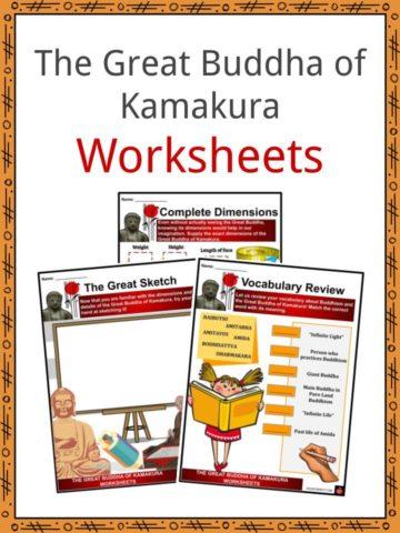 The Great Buddha of Kamakura Worksheets