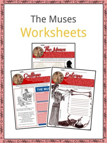 The Muses Worksheets