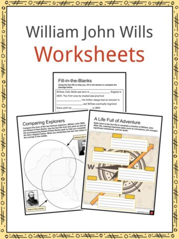 William John Wills Worksheets