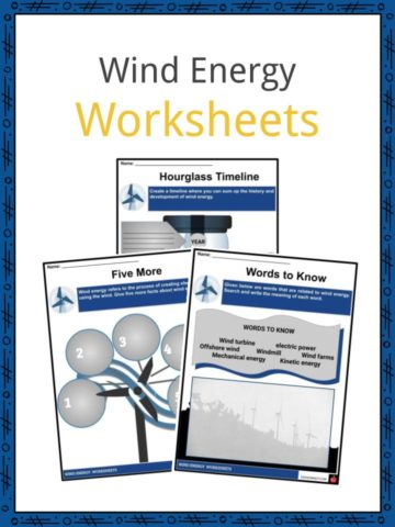 Wind Energy Worksheets