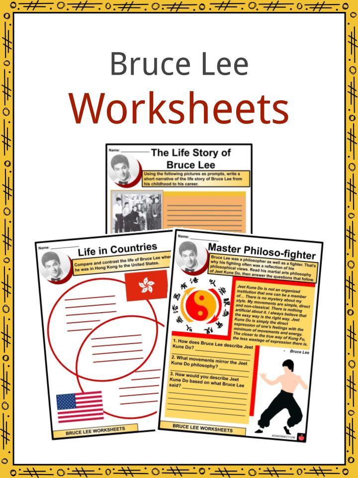 Bruce Lee Worksheets