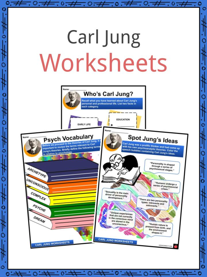 Carl Jung Worksheets