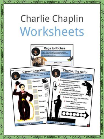 Charlie Chaplin Worksheets