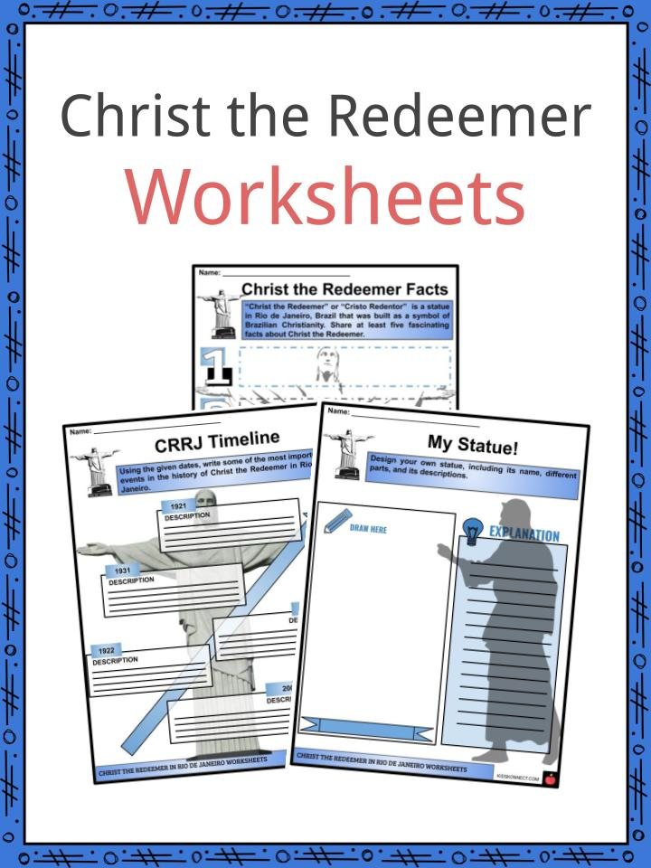 Christ the Redeemer Worksheets
