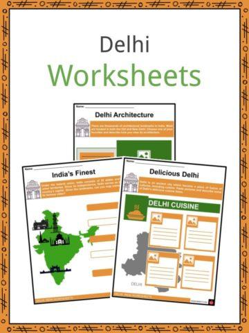 Delhi Worksheets