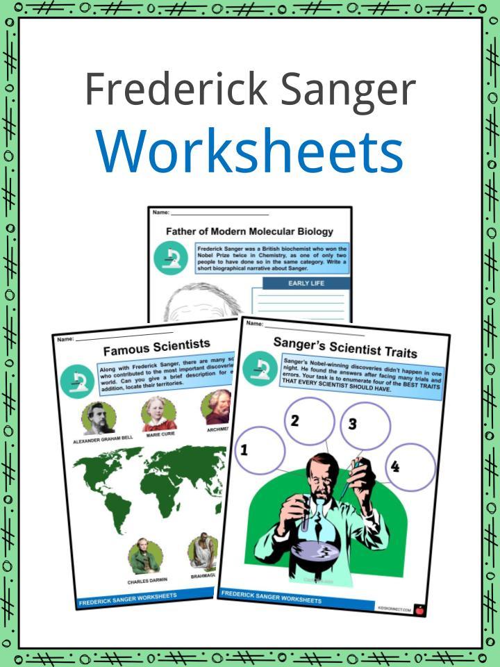 Frederick Sanger Worksheets