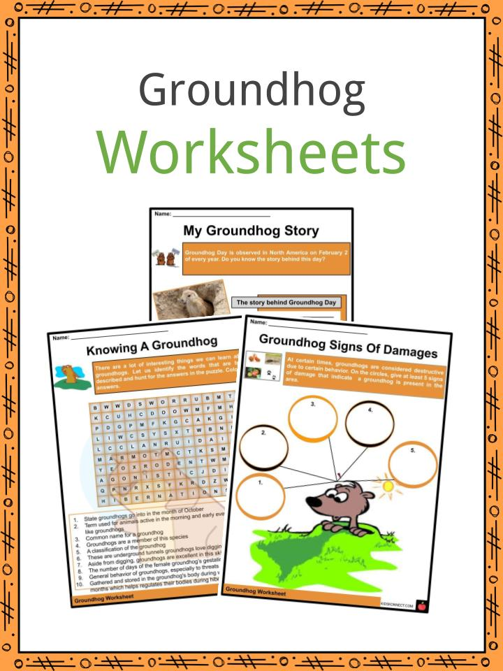 Groundhog Worksheets