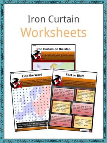 Iron Curtain Worksheets
