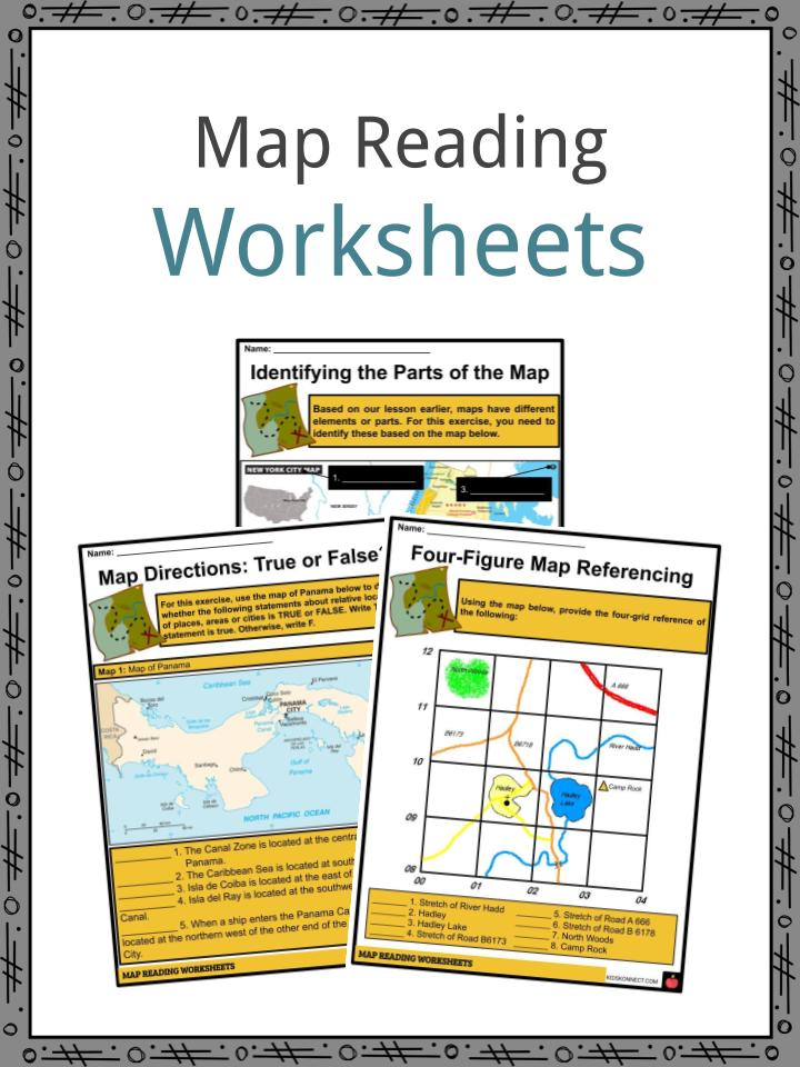 Map Reading Worksheets