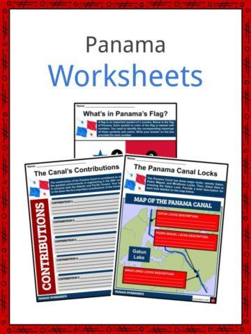 Panama Worksheets