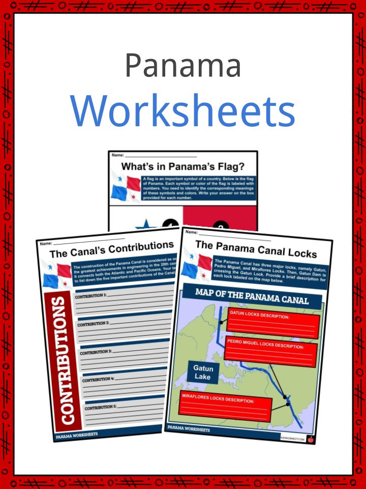 Panama Worksheets