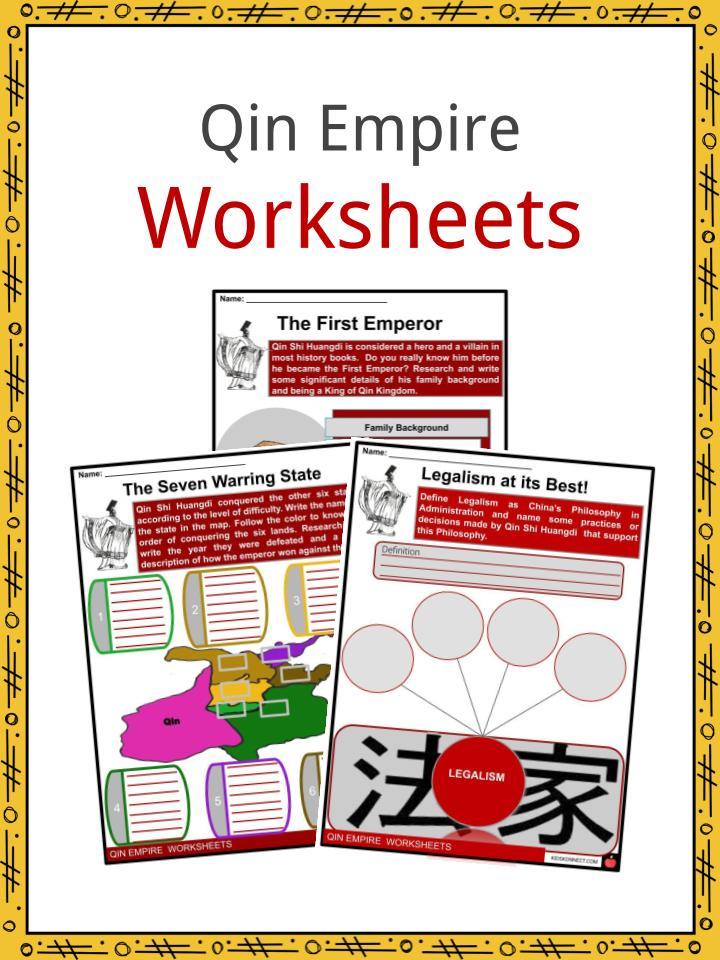 Qin Empire Worksheets