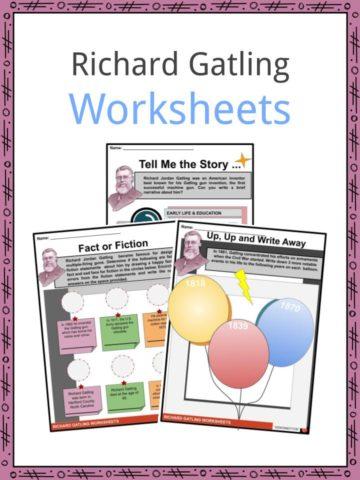Richard Gatling Worksheets