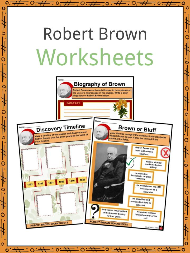 Robert Brown Worksheets